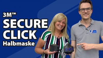 3M Secure Click Halbmaske