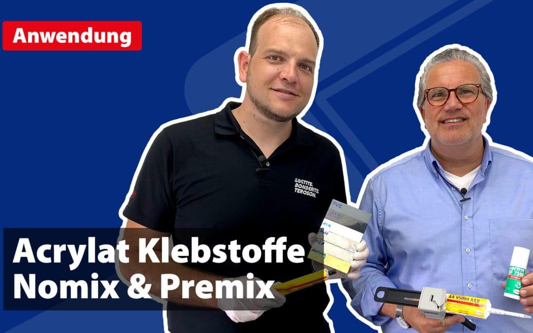 Acrylat Klebstoffe – Nomix & Premix