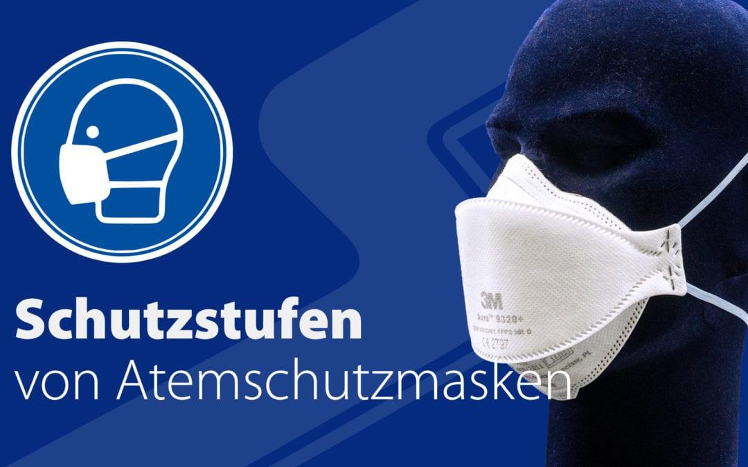 Schutzstufen von Atemschutzmasken